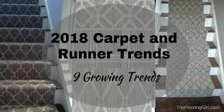 2017 carpet runner and area rug trends