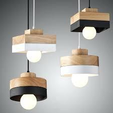 handmade chandelier modern simple wooden handmade chandelier with black white iron shape handmade chandelier with paper handmade chandelier