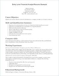 Finance Resume Objective Objective Resume Sample Finance Resume