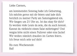 brief schreiben deutsch b1 prüfung