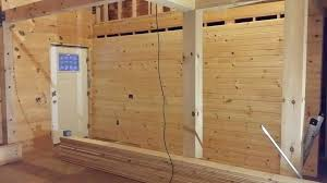 log cabin interior wall interiors