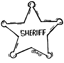Small Picture Police Badge Coloring Page Pilular Coloring Pages Center