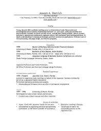 Microsoft Word Resume Templates For Mac