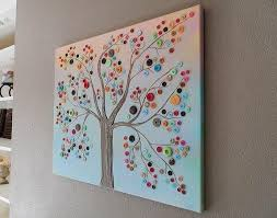 DIY Tutorial DIY home crafts / DIY crafts for home decor Button Tree crafts  work - Bead&Cord