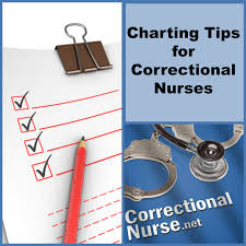 Charting Tips For Correctional Nurses Correctional Nurse Net