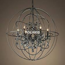 innovative orb light chandelier orb light chandelier edrexco