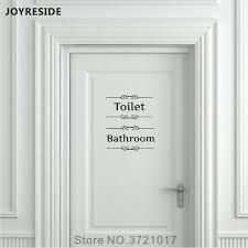 joyreside angels devils uni restroom bathroom sign toilet door wall decal vinyl sticker decor men women art decoration xy098