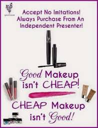 makeup from auction sites and other places is just that invest in yourself