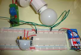 automatic room lights using pir sensor and relay circuit diagram automatic room lights using pir sensor and relay
