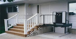 Outdoor Handicap Lifts