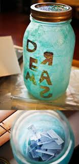Ways To Decorate Glass Jars 100 Cute DIY Mason Jar Crafts 99