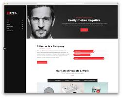 30 Best Vcard Wordpress Themes 2018 For Your Line Resume Resume