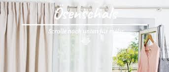 ösenschals Meine Gardinende Der Gardinen Spezialshop Von