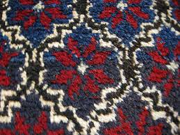 pretty floret design red backed by turkish rug entrance old room carpet rug handwoven blue from マットコンヤ