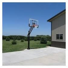 pro dunk silver inground adjustable basketball goal hoop with 54 outside basketball hoop u58