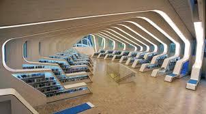 Tianjin Binhai Library by MVRDV, Tianjin Binhai Library, China public  library, futuristic libraries