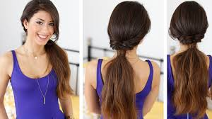 Luxy Hair Style fishtail ponytail hair style youtube 5677 by wearticles.com