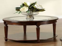 fantastic round wood and glass coffee table and elegant glass top round coffee table coffee table
