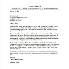 Cover Letter Sample For Teaching Position Cover Cover Letter