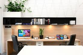 design home office. Compact Home Office Design Focuses On Functionality [Design: Lime Building Group]