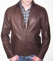 ralph lauren polo dark brown leather barracuda jacket size medium 995 msrp