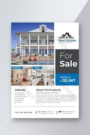 Real Estate Brochure Template Free Creative Real Estate Flyer Template Design Template Psd