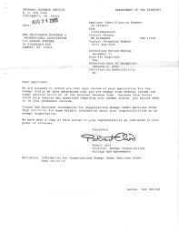 irs determination letter 501 c 3 irs professional