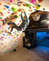 home rock climbing wall primer part 1 planning and construction diy indoor from p