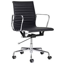 milan direct replica eames executive office. milan direct eames leather replica management office chair executive i