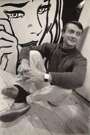 roy lichtenstein photographed by dennis hopper lichtenstein was an american pop artist during along w andy warhol jasper johns james rosenquist among