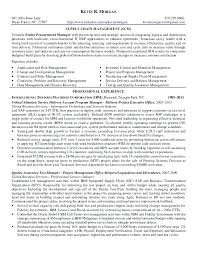 Supply Chain Management Resume Extraordinary Resume Format For Supply Chain Management S Quickplumberus