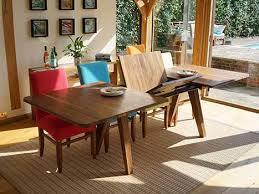 lyon walnut extending dining table. lyon walnut extending dining table bentley designs 4 brilliant extended sets
