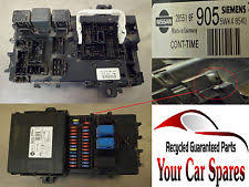 nissan terrano fuses fuse boxes nissan terrano ii 3 0 td diesel manual fuse box fusebox 28551 9f 905