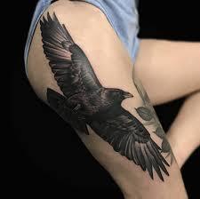 Crow Tattoo By Ethan Jones Modern Body Art