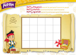 Jake And The Neverland Pirates Potty Chart Pull Ups Hannah Saunders Art Director