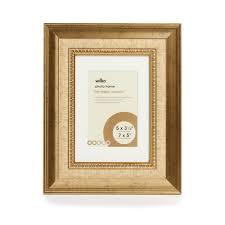 wilko dorchester gold photo frame 7 x 5in image 1