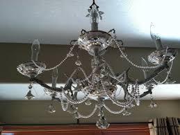 shabby chic chandelier diy