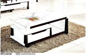 coffee marble table modern living room furniture marble top tea table coffee table black and white