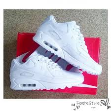 nike shoes air max womens white. nike air max 90 womens mens shoes hyperfuse all white i