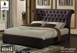 Birlea Sandringham Leather Bed Frame | Best Price