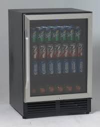 avanti bca516ss 5 0 cu ft glass door beverage cooler
