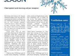 44 Winter Newsletter Templates Newsmail Email Marketing