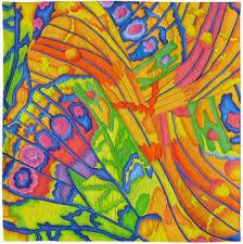 218 best Susan Brubaker Knapp images on Pinterest | Quilt art ... & Susan Brubaker Knapp - Quilting Daily Lepidoptera is a wholecloth painted  quilt, 39