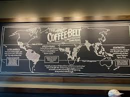 Map The Coffee Belt Neat Map In A Starbucks Infographic