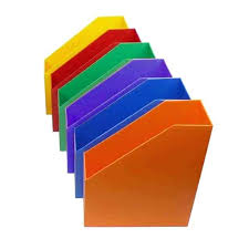 Plastic Magazine Holders Bulk Classy Plastic Magazine Holders Multi Color Set Of 32 Dollar Tree