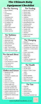 Baby Check List The Ultimate Baby Equipment Checklist Everything You Need