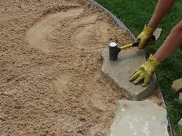 loose flagstone patio. Video And Instructions To Install A Flagstone Patio. This Is What I Want Do Loose Patio