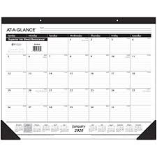 At A Glance Academic Planner 2020 17