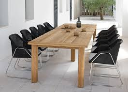 manutti asti teak garden table now discontinued