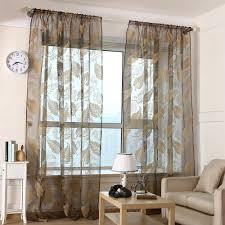 Sheer Curtains For Living Room Online Get Cheap Elegant Sheer Curtains Aliexpresscom Alibaba